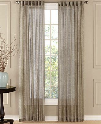 Macys Sheer Curtains Window Treatments by Beacon Looms Window Treatments Chelsea Sheer 50 Quot X 84