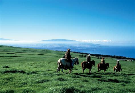 hawaii riding horseback island horses horse beaches cowboys hawaiian ride adventurous things courtesy