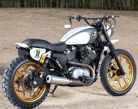 A Harley Street 750 Goes Off-road At Cyril Huze Post