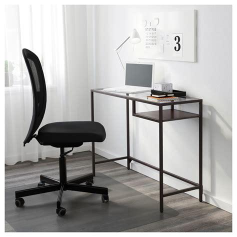 vittsjö coffee table black brown vittsjö laptop table black brown glass 100x36 cm ikea
