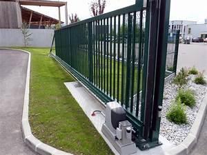 Rail De Guidage Pour Portail Coulissant : choisir sa motorisation de portail en quelques tapes ~ Voncanada.com Idées de Décoration