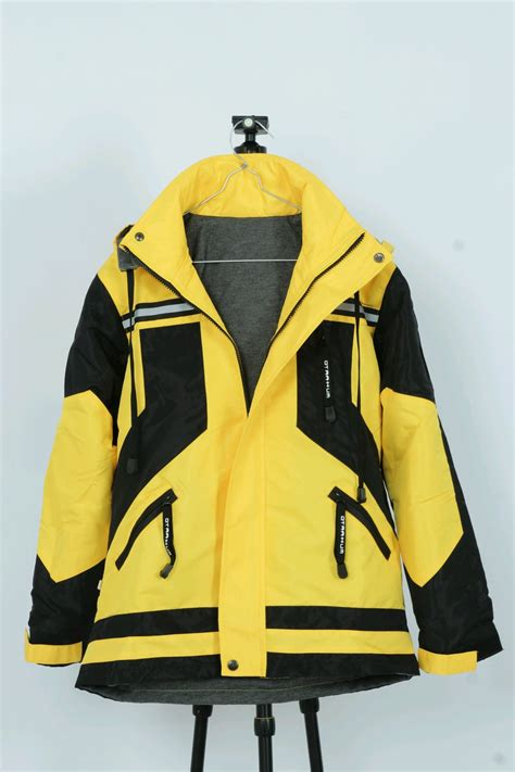 jual jaket parasut outdoor parka windbreaker jaket safety lapangan tambang gunung waterproof