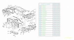 Subaru Loyale Sealing-belt Cover  No 4 Left  Timing  Engine  Cooling