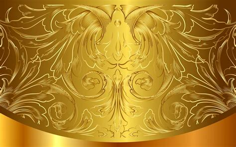 golden pattern vintage gradient vector background gold hd