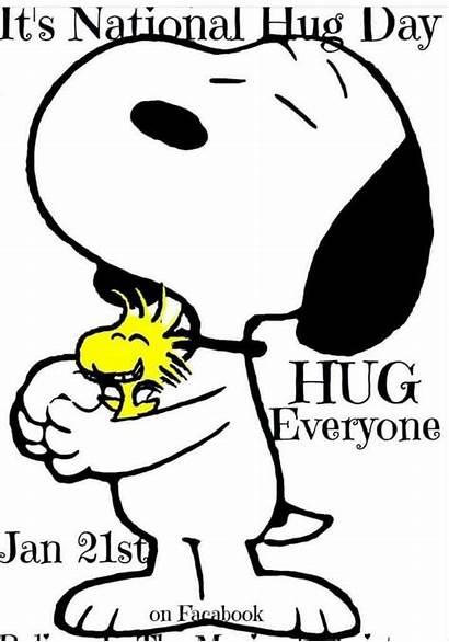 Snoopy Hug Hugging National Woodstock Cartoon Peanuts