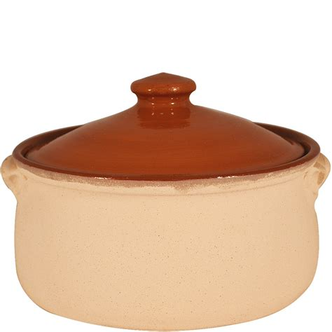 pots cuisine terracotta cooking pots sand coated