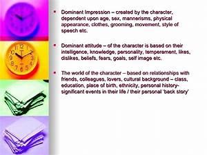 dominant impression