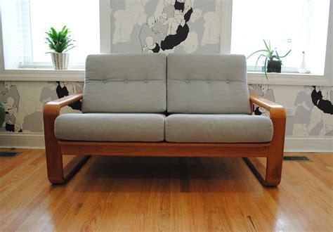 Danish Modern Teak Sofaloveseat Phylum Furniture