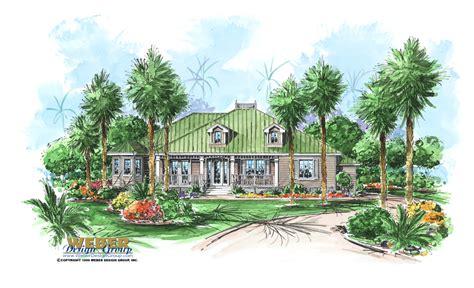 cape sabal house plan  florida house plan weber