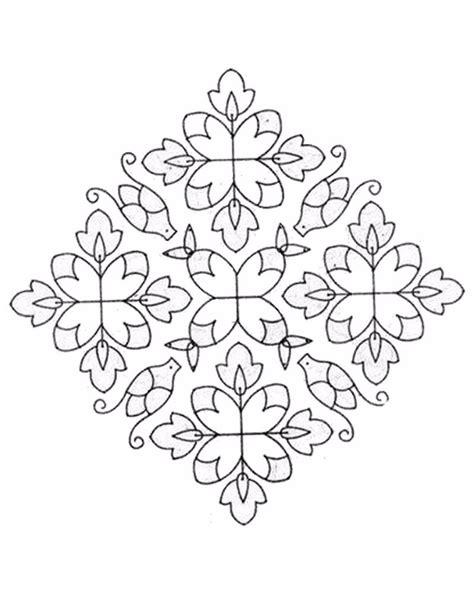 diwali rangoli drawing  getdrawings