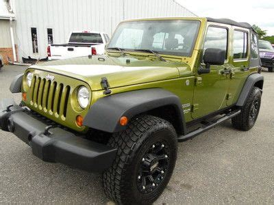 wrecked jeep purchase used 2010 jeep wrangler 4 door 4wd rebuilt