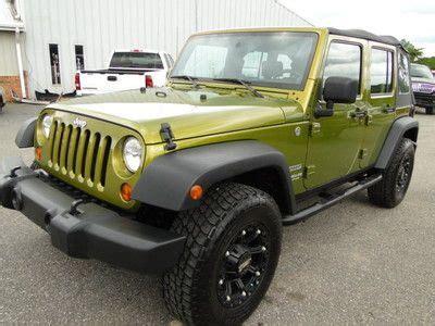 crashed jeep wrangler purchase used 2010 jeep wrangler 4 door 4wd rebuilt