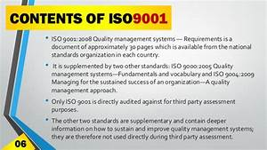 iso 9000 quality management system a presentation by With iso 9000 document control