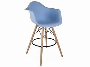 Chaise De Bar Bleu : chaise daw bleu clair ~ Teatrodelosmanantiales.com Idées de Décoration