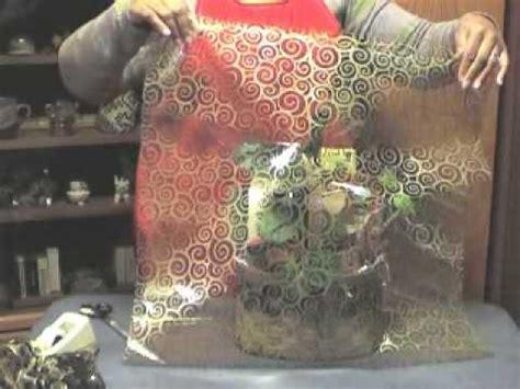 wrap  gift basket  cellophane youtube