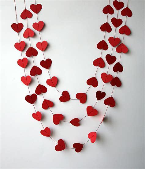 valentines day decor valentine decor heart garland