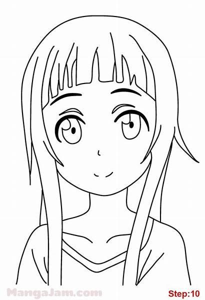 Sword Yui Draw Drawings Mangajam Step Anime