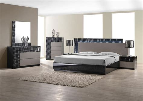 modern bedroom set  led lighting system modern