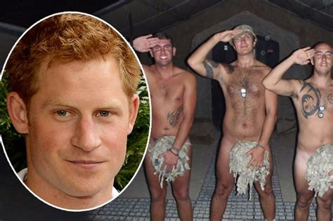 Prince Harry naked pictures: Soldiers in naked Facebook
