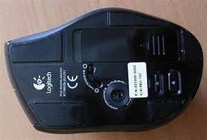 202251 Cordless Mouse Label Diagram Label Information Logitech