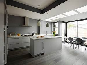 30, Gorgeous, Grey, And, White, Kitchens, That, Get, Their, Mix, Right