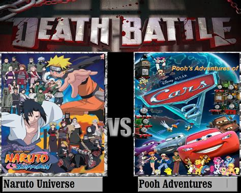 Naruto Universe Vs Pooh Adventures By Keyblademagicdan On
