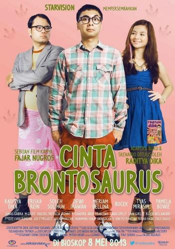 ulas buku quotes  film cinta brontosaurus