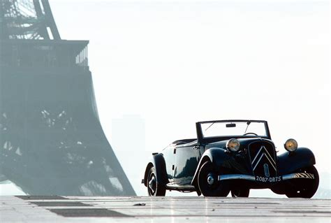 1934 Citroen Traction Avant Milestones
