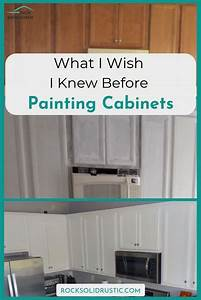 What I Wish I Knew Before Painting Cabinets In 2020