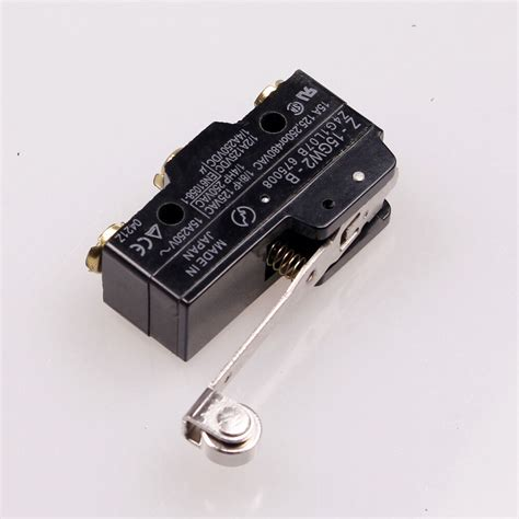 Long Roller Lever 3 Screw Terminal Momentary Limit Switch