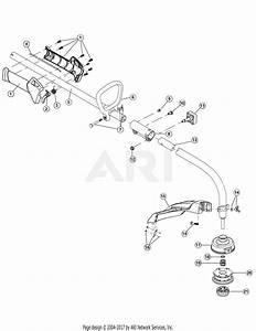 Troy Bilt Tb15cs 41adt15c966  41adt15c966 Tb15cs Parts Diagram For Boom  U0026 Trimmer