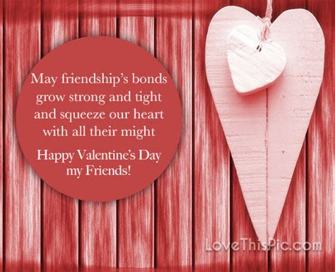 happy valentines day quote  friends pictures