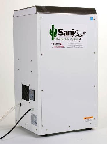The Sanidry™ Xp Basement Dehumidifier