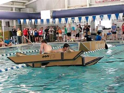 Cardboard Boat Race Fails by Mit S Annual Cardboard Boat Regatta Program