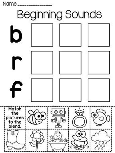 best 25 beginning sounds worksheets ideas on