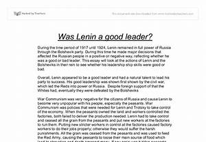 good leader essay introduction