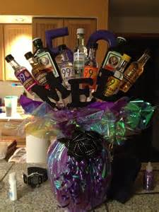 50th Birthday Alcohol Bouquet