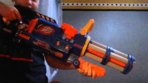 Super Short Nerf Punisher Mini Gun