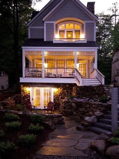 house plans walkout basement loft