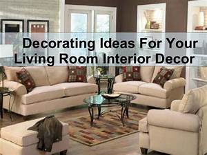 decorating ideas for your living room interior decor With ideas for decorating your living room