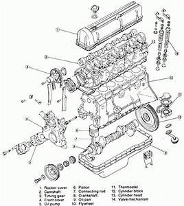 Exploded Engine Diagram