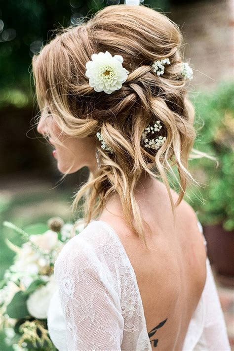 Hairstyles For With Medium Hair by 30 Wedding Hairstyles For Medium Hair My Stylish Zoo