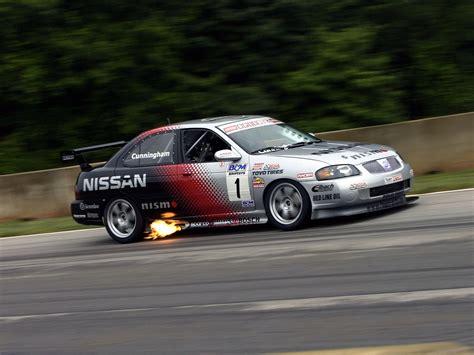 nissan sentra race car nismo nissan sentra se r spec v racing car b15 39 2004