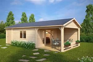 Gartenhaus Mit überdachter Terrasse : gro es gartenhaus mit terrasse heinz 22m 58mm 4x9 garten gartenhaus garten und ~ Frokenaadalensverden.com Haus und Dekorationen