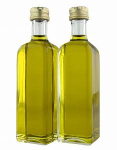 Olive Oil Bottle PNG Image