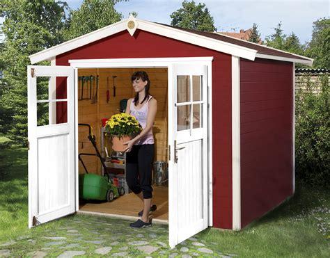 Gartenhaus Holz Rot by Weka Ger 228 Tehaus 21 Mm Gartenhaus 224 Gr 2 Rot 280x229cm