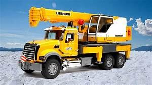 Video De Camion De Chantier : revue des jouets bruder camion grue voitures pour les gar ons collection de jouets youtube ~ Medecine-chirurgie-esthetiques.com Avis de Voitures