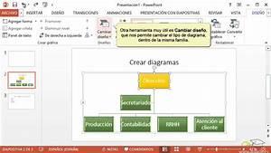 Curso De Powerpoint 2013  12  Trabajar Con Diagramas
