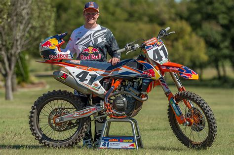 red motocross motocross action magazine it s official trey canard joins