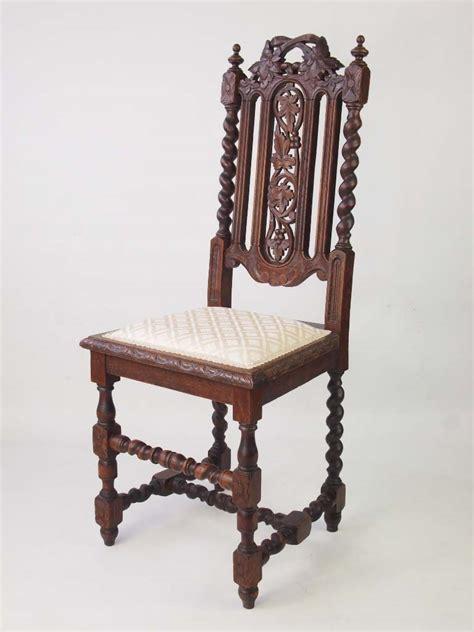 antique oak chairs antique revival oak chair 1293